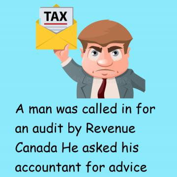 A Man Was Called In For An Audit By Revenue Canada