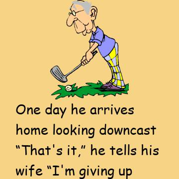 Arthur Is 75 Years Old And Played Golf Every Day