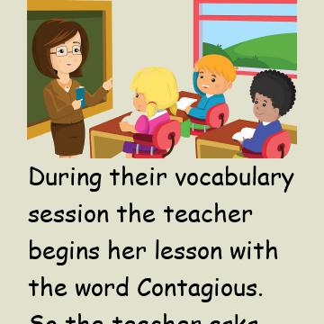 Can Anyone Use The Word Contagious In A Sentence?
