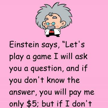 Einstein Is Baffled By This Mans Quizzical Question