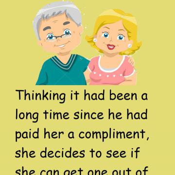 Funny: A Woman Wants A Compliment From Her Husband