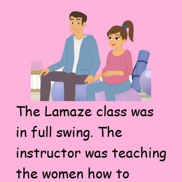 Her Husband Asks A Very Important Question During The Class