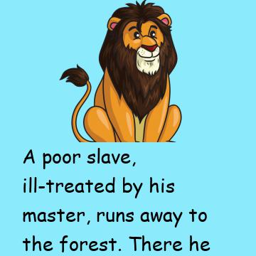 Lion And The Poor Slave