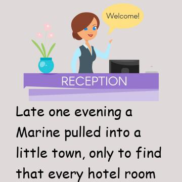 Marine Shares A Room With A Heavy Snorer