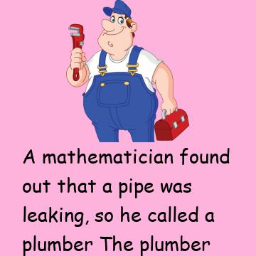 Mathematician And Plumber