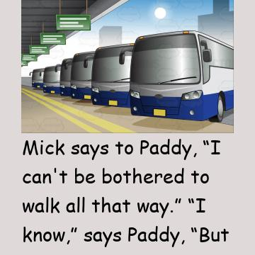 Mick And Paddy Decide To Steal A Bus Instead Of Walking Home