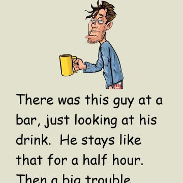 So Funny: The Unfortunate Man At The Bar