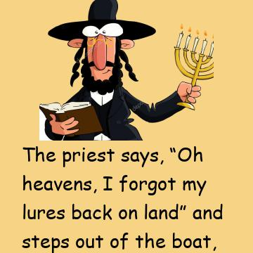 The Atheist Couldn't Believe It When The Priest And Rabbi Did This