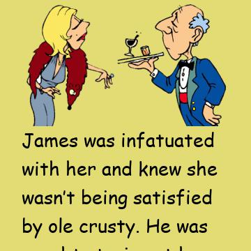 The Butler Was Trembling As She Told Him To Take Off Her Blouse