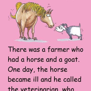 The Goat And The Horse Story