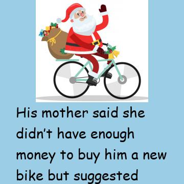 The Little Boy Had A Cunning Plan To Get His Christmas Present