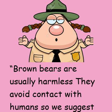 The Park Ranger Explains The Differences In Bears