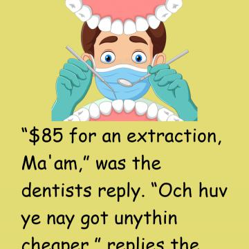 The Scottish Lass Goes To The Dentist