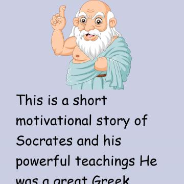 The Story Of Socrates And Lazy Boy