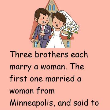 Three Brothers Each Marry A Woman
