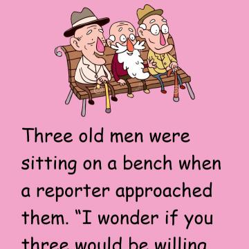 Three Old Men And Their Secrets