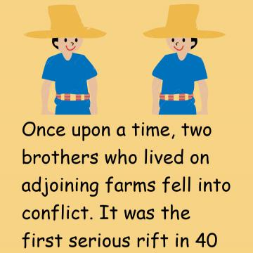 Two Brothers And A Carpenter Story